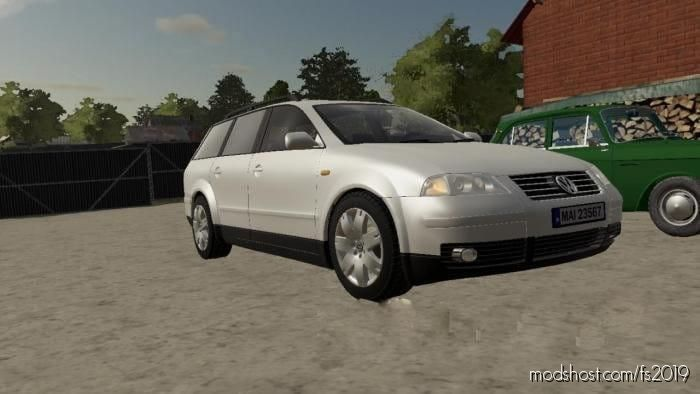 Volkswagen Passat for Farming Simulator 19