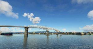 Sergio Osmeña Bridge (Mandue-Mactan Bridge)(Cebu City,Philippines) for Microsoft Flight Simulator 2020