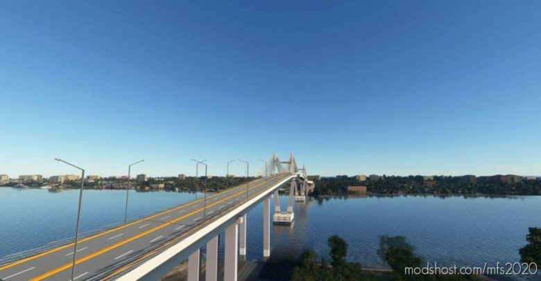 Marcelo Fernan Bridge (Cebu City,Philippines) for Microsoft Flight Simulator 2020