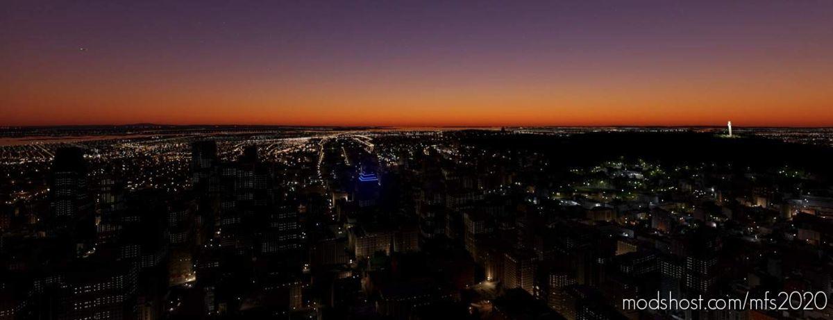 Centre Eaton Lights Montreal for Microsoft Flight Simulator 2020