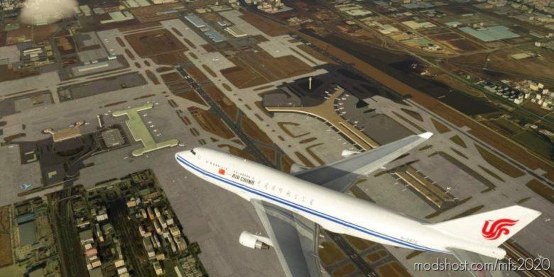 747-400 AIR China B-2472 for Microsoft Flight Simulator 2020