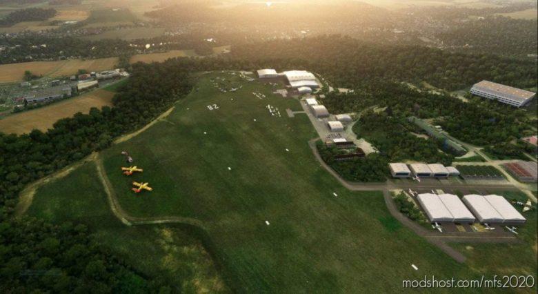 """Lffq LA Ferte Alais """"LE Temps DES Hélices"""" V0.9 for Microsoft Flight Simulator 2020"""