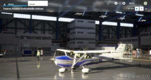 Cessna 172 G1000 Embry Riddle Livery V1.1 for Microsoft Flight Simulator 2020