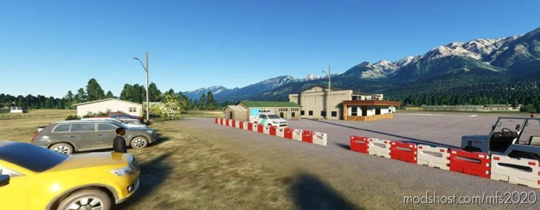 Fairmont HOT Springs British Columbia Cycz V1.2 for Microsoft Flight Simulator 2020