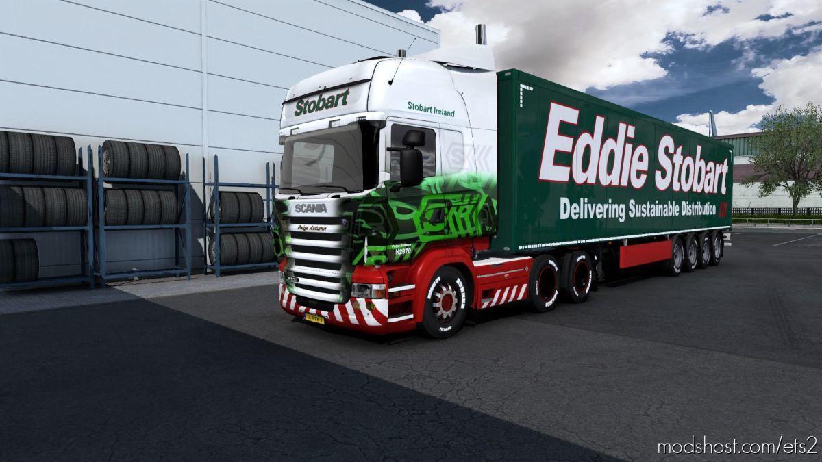 Combo Skin Stobart for Euro Truck Simulator 2