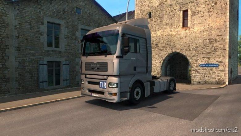FIX For MAN TGA V1.1 [1.39] for Euro Truck Simulator 2