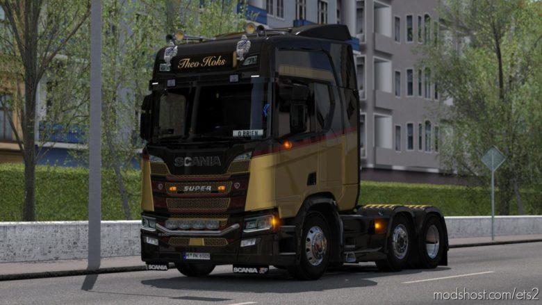 Scania Next GEN L6 Sound Mod [1.39] for Euro Truck Simulator 2