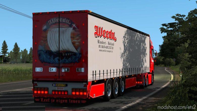 Weeda Transport Trailer [1.39.X] for Euro Truck Simulator 2