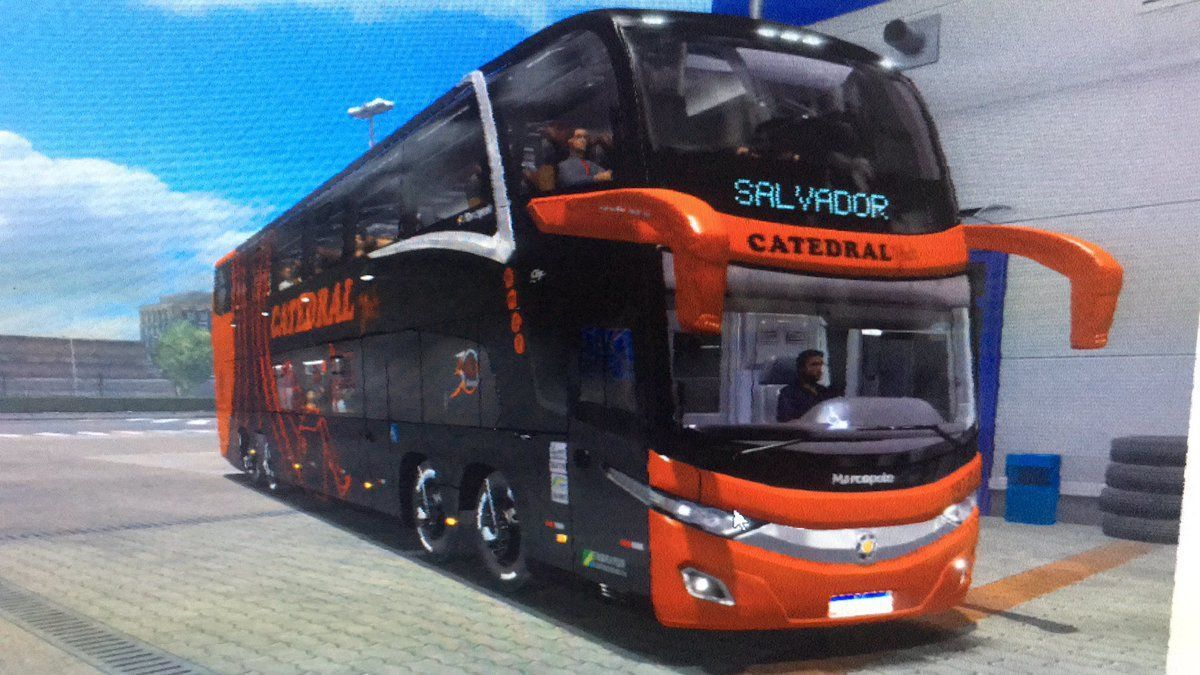 NEW G7 1800DD SKIN&MOD3D JULIO CESAR VOLVO [1.39] for Euro Truck Simulator 2