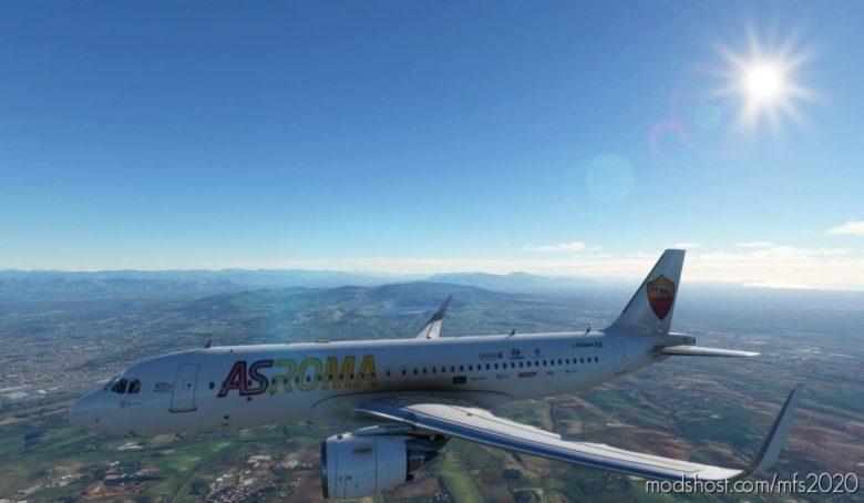 Custom AS Roma for Microsoft Flight Simulator 2020