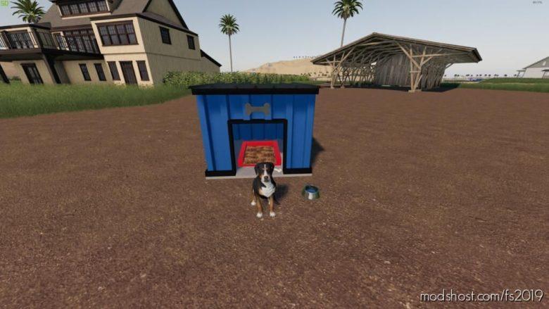 Modern DOG House Pack for Farming Simulator 19