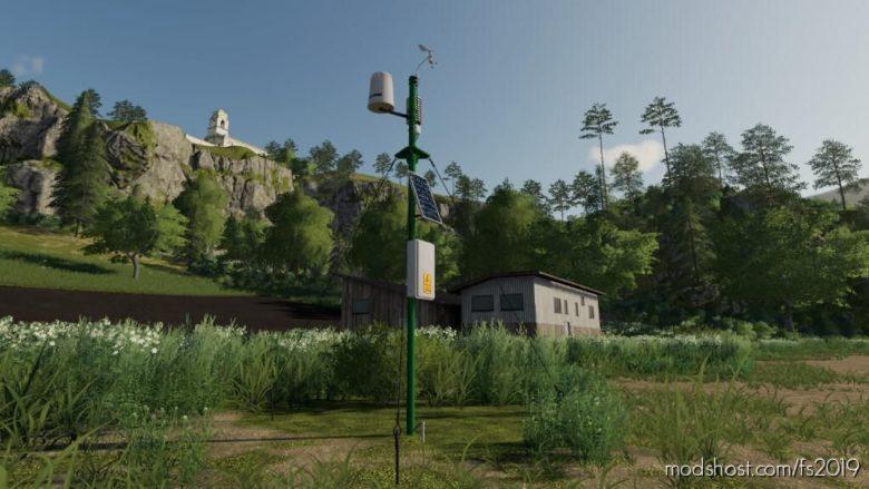Wheather Station for Farming Simulator 19