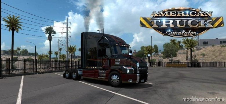 Exhaust Smoke [1.39] for American Truck Simulator