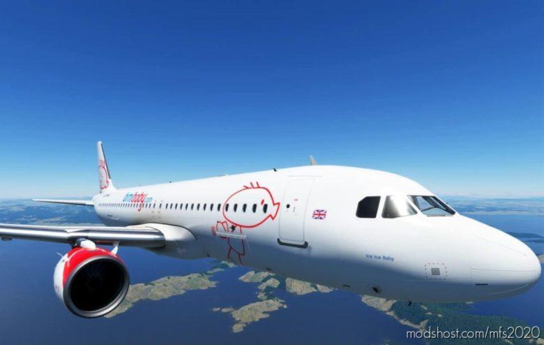 Airbus A320Neo Bmibaby for Microsoft Flight Simulator 2020