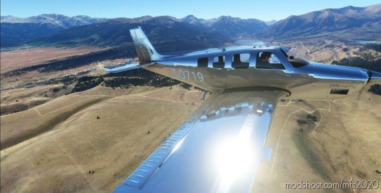 Bonanza G36 Chrome V0.1 for Microsoft Flight Simulator 2020