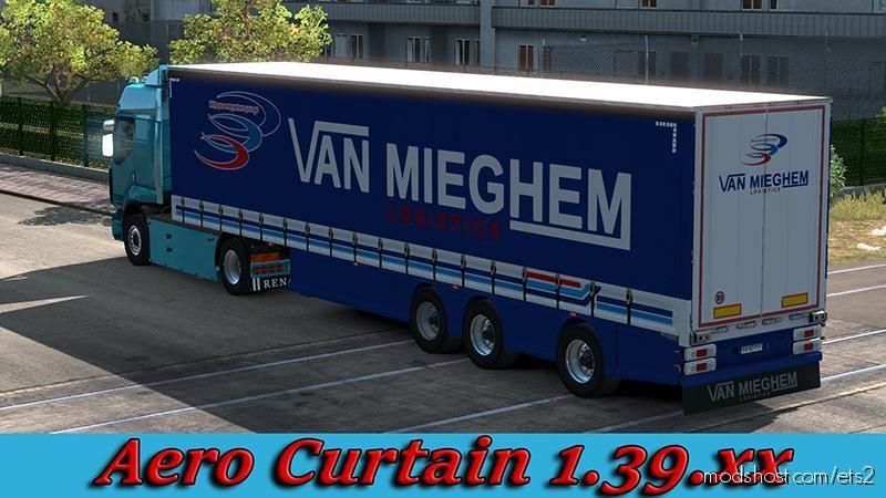 Aero Curtainsider [1.39] for Euro Truck Simulator 2