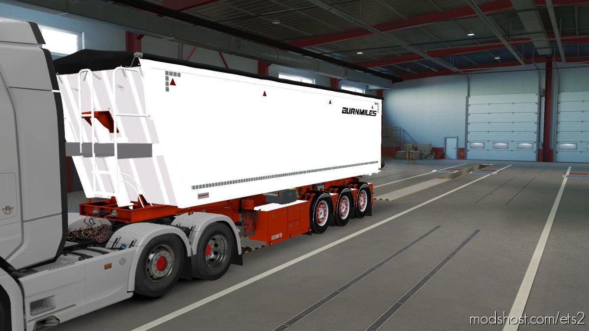Kipper Trailer [1.39] for Euro Truck Simulator 2