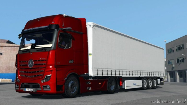 Mercedes-Benz Actros 2019 V1.5 [1.39] for Euro Truck Simulator 2
