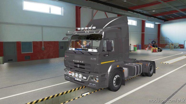 Kamaz 5460-73 2012 [1.39] for Euro Truck Simulator 2