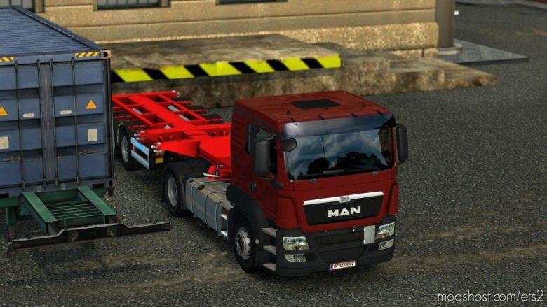 FIX For MAN TGS Euro 6 V1.1 [1.39] for Euro Truck Simulator 2