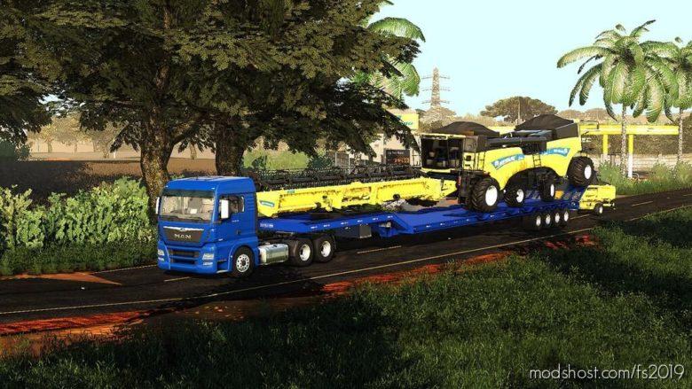 Transport Trailer 25M for Farming Simulator 19