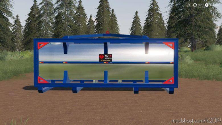 Dynamic Fuel Tank for Farming Simulator 19