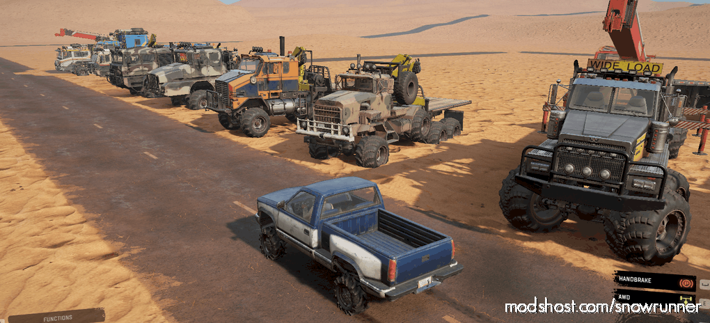 MAX Pack Trucks V0.1 for SnowRunner