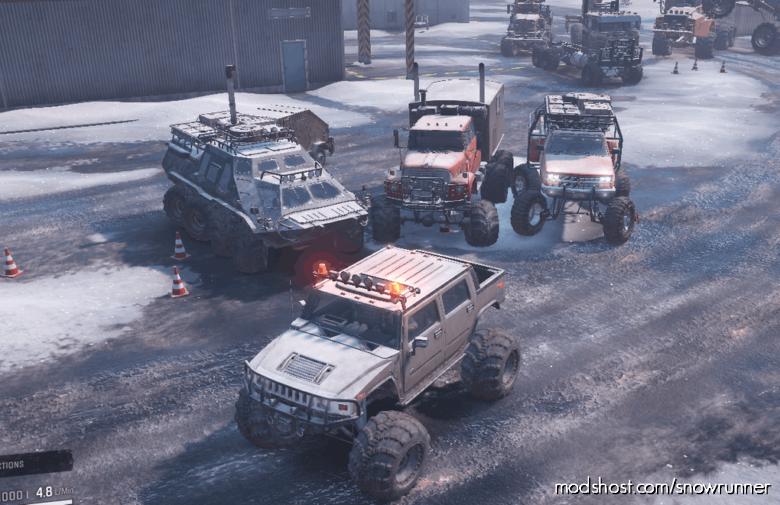 MAX Pack Scouts V0.1 for SnowRunner