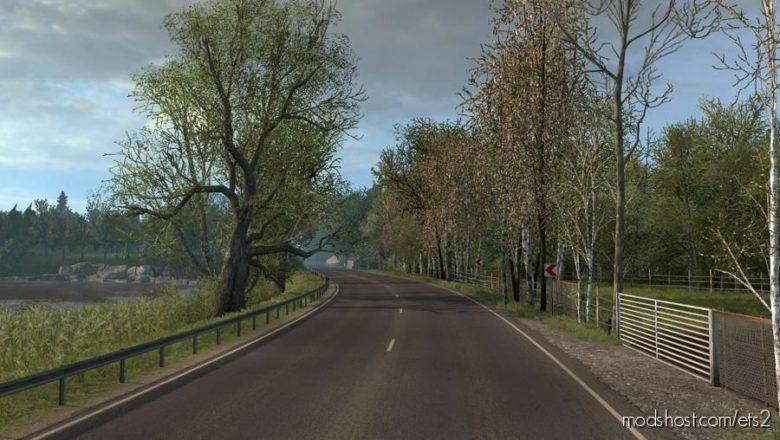Late Autumn/Mild Winter V3.8 for Euro Truck Simulator 2