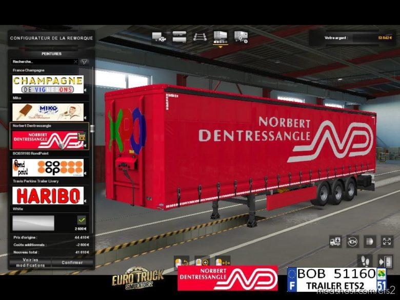 Skin Norbert Dentressangle for Euro Truck Simulator 2