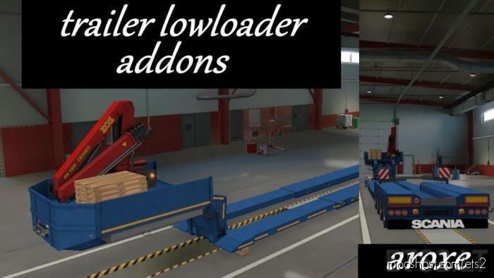 Addons Trailer Lowloader for Euro Truck Simulator 2
