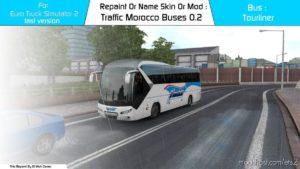 EL MOH Gamer – Traffic – Morocco Buses V0.2 [1.39] for Euro Truck Simulator 2