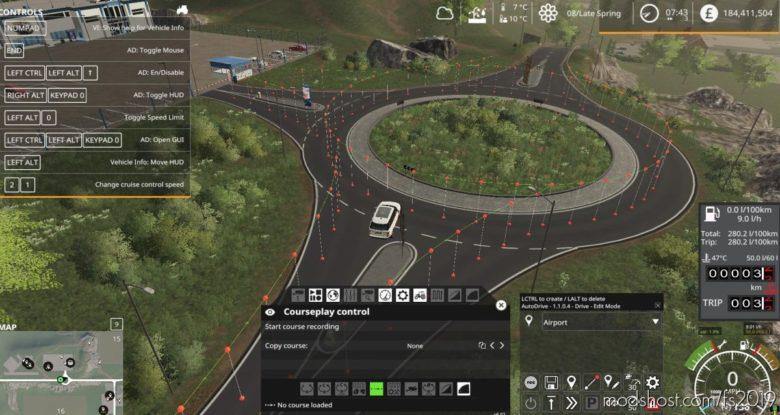 Sussex Farm Autodrive Network for Farming Simulator 19