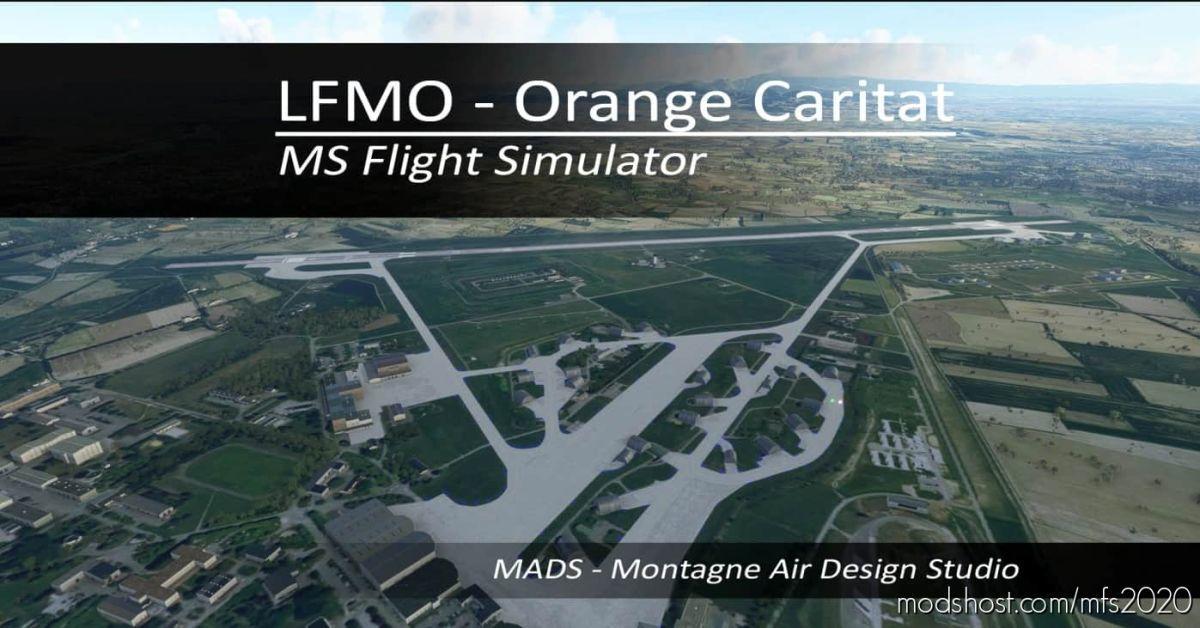 Lfmo – Orange Caritat, France V2.1 for Microsoft Flight Simulator 2020