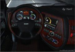 Dark Interior For DAF XF 105 V2.1 for Euro Truck Simulator 2