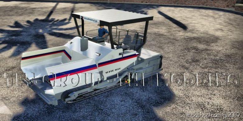 Finisher Vogele Eurovia V2.0 for Farming Simulator 19