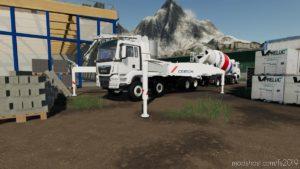Pompe A Beton Cemex (Concrete Pump Cemex) for Farming Simulator 19