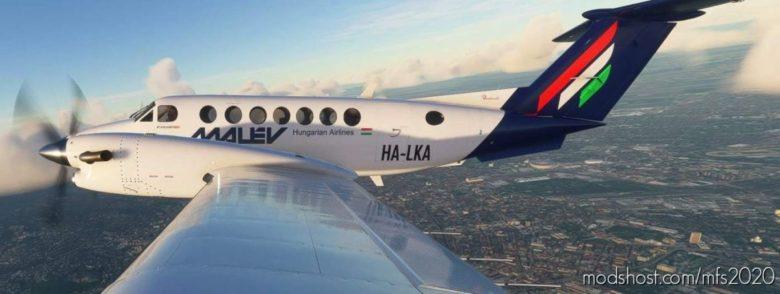 Malev Beechcraft King AIR 350I for Microsoft Flight Simulator 2020