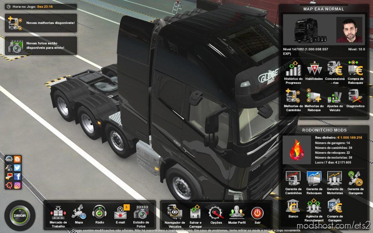 Profile Mapa EAA By Restanho 5.5 [1.39] for Euro Truck Simulator 2