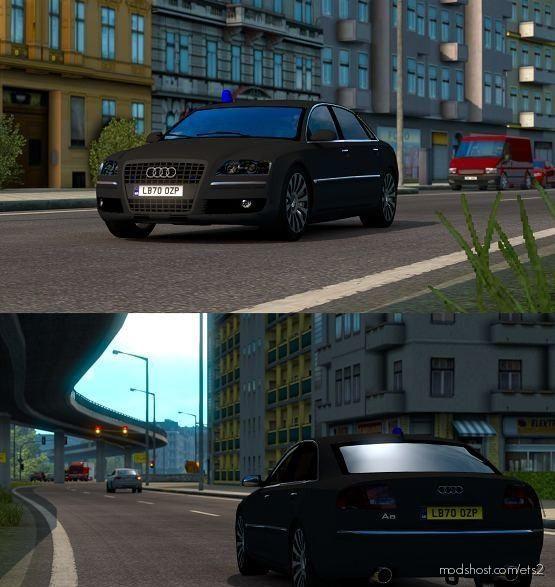 Audi A8 W12 V3 [1.39] for Euro Truck Simulator 2