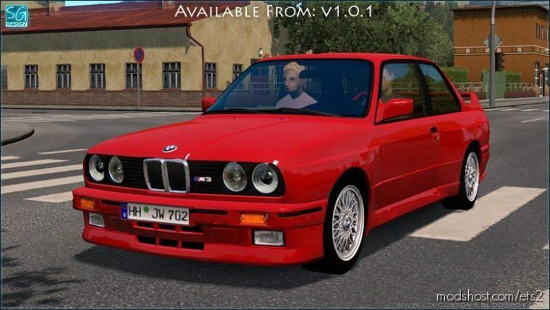 BMW Traffic Pack V1.0.1 for Euro Truck Simulator 2