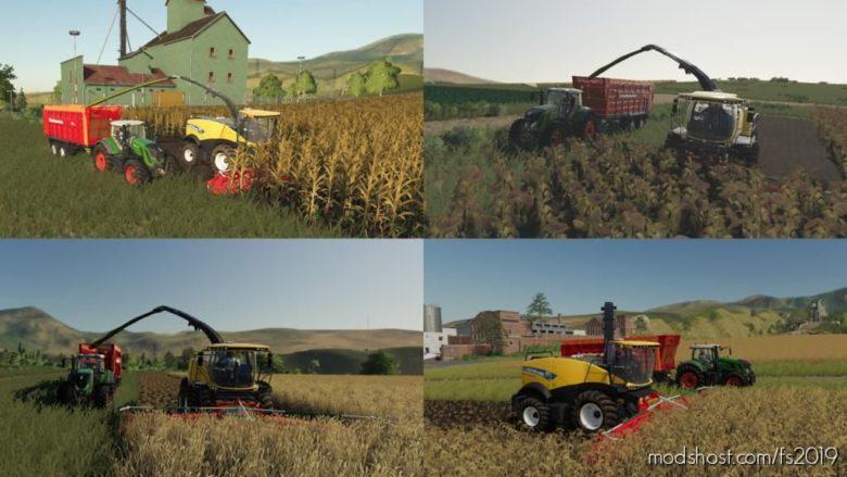 Multi Harvest Headers V1.2 for Farming Simulator 19