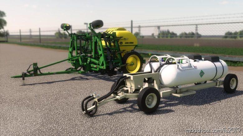John Deere 2510H And John Deere 2510H Tank for Farming Simulator 19