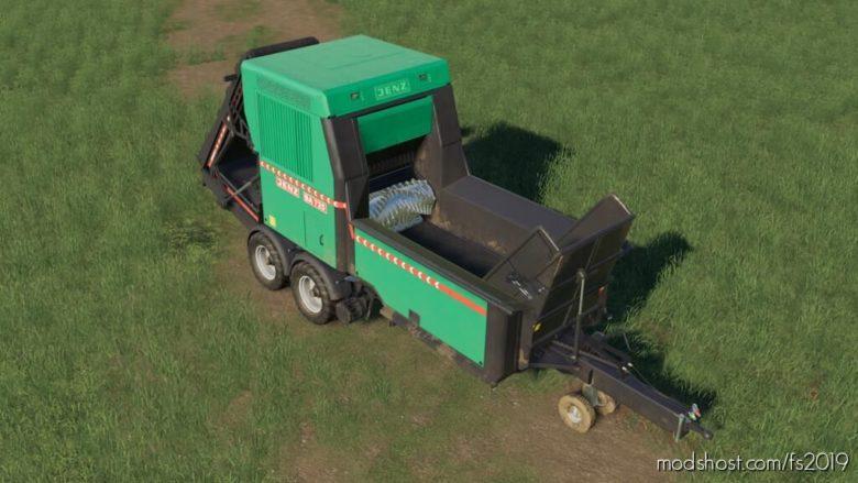 Jenz BA 725 D for Farming Simulator 19