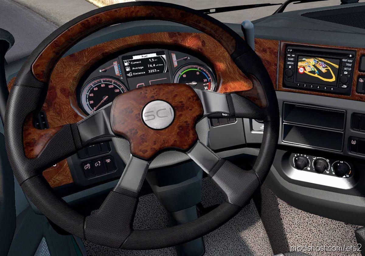 Steering Creations Pack For ETS V1.3 for Euro Truck Simulator 2