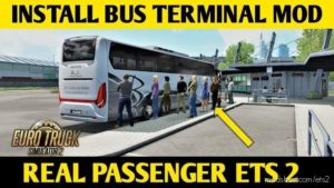 Detbit BUS Terminal [1.39] for Euro Truck Simulator 2