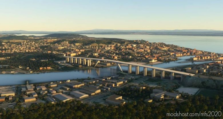 Martigues Bridges, Industry And More V0.5 for Microsoft Flight Simulator 2020