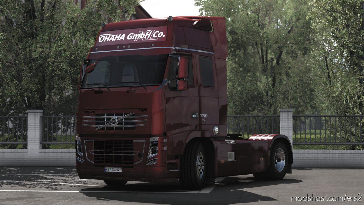 Volvo FH 2009 V22.00 [1.39] for Euro Truck Simulator 2