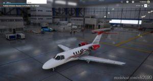 Citation CJ4 RED / Black / Gray for Microsoft Flight Simulator 2020