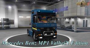 Mercedes Benz MP1 [1.39.X] Valhein Edition for Euro Truck Simulator 2